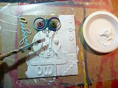 that artist woman: Owl Assemblage