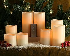 Flameless Candles With Remote Costco Flameless Led Candles With Remote Costco 1  Products I Love