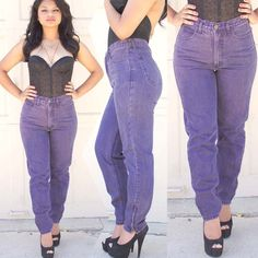 GUESS Vintage High Waisted Purple Denim Skinny Jeans ♥ pinkMonday For Sale Here:  http://j.mp/RzsSJk  #pinkmonday #vintage #retro #fashion #style #womensfashion #hipster #etsy #1980s #1970s #1960s #90s #80s #70s #denim #purpledenim #love #highwaisted #highwaistedjeans #purplejeans #womensjeans #vintagejeans #vintagepants #retojeans #retropants #guess #guessjeans #georgesmarciano #skinnyjeans #highwaistedpants #womensclothing #lacecorset #love #designervintage #cigarettejeans #purple