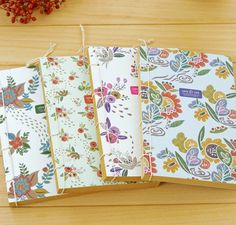 Freeshipping!NEW  Creative Vintage Garden Life  The wire bound Notebook/Diary/fashion Gift/notepads/Wholesale-in Notebooks from Office & Sch...