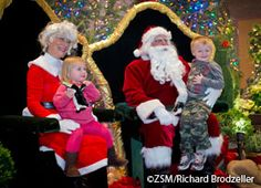 Breakfast & Lunch with Santa Dec. 5-6, 12-13 and 19-20, 2015