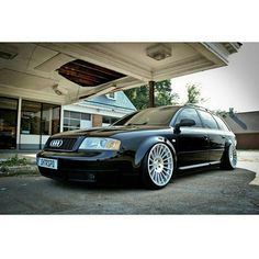 "Camp allroad op Twitter: ""#Bagged #C5 #S6 #Avant on @Rotiform wheels from…"
