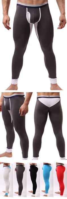 Winter Outfit�� Casual Long Johns/Modal Outdoor Underwear #men #menswear