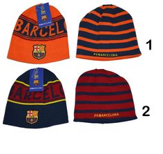 499b23f95ea Fc barcelona beanie reversible official winter skull cap autentic