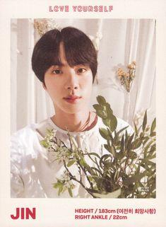 BTS Love Yourself Program Book Photocard Seokjin, Namjoon, Taehyung, Rapmon, K Pop, Genre Musical, Bts Polaroid, Bts Love Yourself, Mnet Asian Music Awards