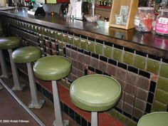 McGill Drugstore Museum.......terra-cotta tile soda fountain bar built in 1930 after fire destroyed the original from1908.