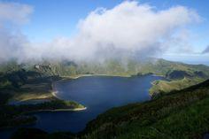 Lagoa do Fogo, Miradouro da Serra da Barrosa, Vila Franca do Campo, ilha de São Miguel, Açores