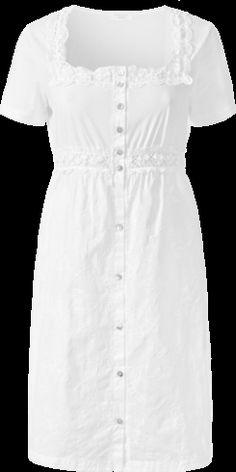 Nachthemd aus besticktem Stoff mit Öffnung auf der Vorderseite - Intimissimi