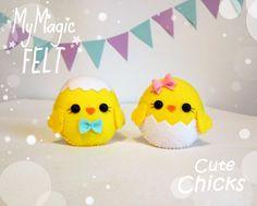 Easter ornament felt cute Easter chick felt ornaments Easter chicks ornament bird cute toy felt Easter gift