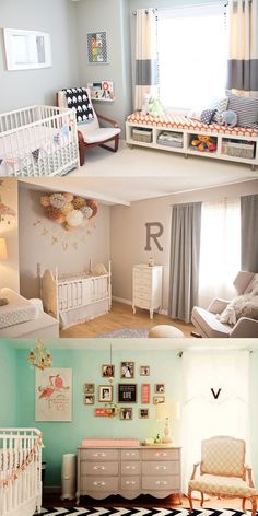 #Baby - Option 2 is my pick - love the color scheme and the flowers bunched up on the wall as an art peice