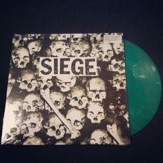 On Sale ::: SIEGE - Drop Dead LP (Green Vinyl 30th Anniversary)  Store: http://www.discogs.com/seller/Grindpromotion Mail: grindpromotion@gmail.com #grindcore #hardcore #powerviolence #fastcore #siege #dropdead #vinyl #anniversary #limitededition #green #deepsixrecords