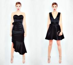 Little black dresses #Reflection