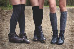 Catholic School girls love high socks