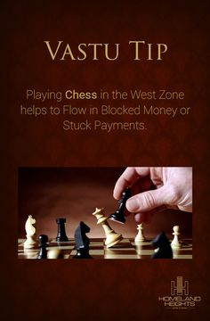 In Life, As in Chess, Forethought Wins.