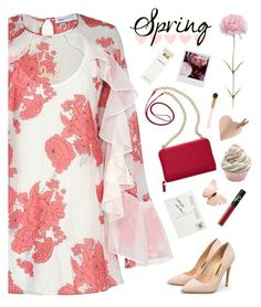 """Mother's Day outfit"" by genesis129 ❤ liked on Polyvore featuring Alice McCall, TravelSmith, Rupert Sanderson, Sydney Evan, Narciso Rodriguez, NARS Cosmetics and AERIN"