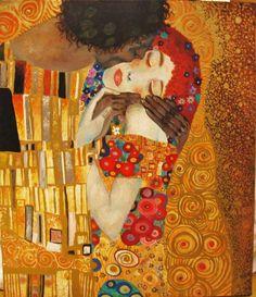 """""""El beso""""- Klimt"""