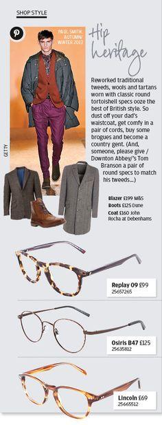 Mens fashion glasses