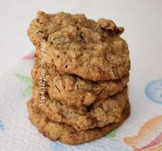 My Kitchen Snippets: Oatmeal Raisin Cranberry Cookies