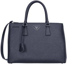 Prada Saffiano Lux Medium Double-Zip Tote Bag 3784d85b2469e