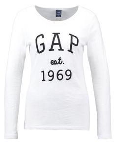 GAP Pitkähihainen paita - white - Zalando.fi