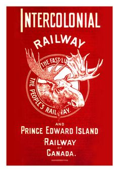 The Intercolonial Railway, 1909  The ICR was Canada's first national railway—pre-dating the CPR by nine years—and the first significant Crown corporation. A dominant presence in the Maritimes it operated from 1872 to 1918, when it became part of Canadian National.  Source: blueruins