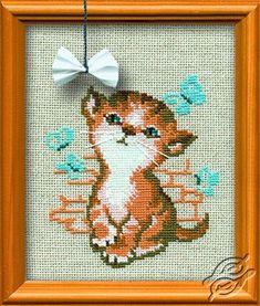Little Kitten Named Maya - Cross Stitch Kits by RIOLIS - 671