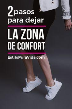 2 Pasos Para Salir de la Zona de Confort Good Habits, Life Organization, Life Motivation, Self Esteem, Better Life, Feel Better, Self Improvement, Good To Know, Personal Development