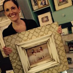 Here's a Moroccan print that went home with this happy customer. The Frame Cottage of Wye Mountain. The Painted Tree Vintage Market, Bryant, AR. First Monday Trade Days,Canton, TX. Distressed, wooden picture frame.Texas Trade Days. Texas Trade Days Ap