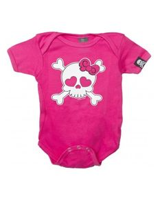 Baby Girly Skull One Piece by Sourpuss Clothing