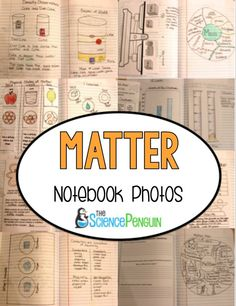 Properties of Matter Science Notebook Photos and Ideas
