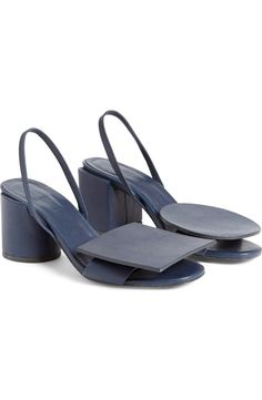 Jacquemus 'Rond Carré' Slingback Sandal (Women) | Nordstrom (WOW !!)