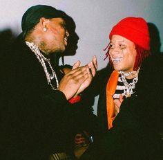 Juice Rapper, Lil Bibby, Rapper Art, Trippie Redd, Red Aesthetic, Aesthetic Collage, Lil Pump, Celebs, Celebrities