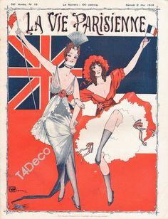 Georges Léonnec  (1881 – 1940). La Vie Parisienne, 2 Mai 1914.  [Pinned 22-vii-2015]