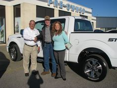 This big white truck found a new home today! Our lovely, wonderful Jennifer Hughes was extremely helpful in assisting Mr. Mark Baker with trading his 1997 Lincoln Towncar in for this 2014 F-150 STX! Thank you so much Mr. Baker for your business, and congratulations on your new ride!