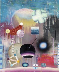 Matías Krahn. Futuros posibles. Óleo sobre tela, 81x65 cm, 2012.
