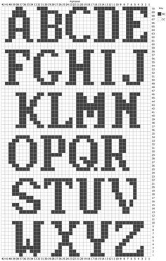 11 Best Duplicate Stitch Alphabet Images On knitting techniques on knitting stitches andAlphabet chart for tapestry crochet.B for Braedyn Crochet Alphabet, Crochet Letters, Alphabet Charts, Embroidery Alphabet, Letter Patterns, Loom Patterns, Stitch Patterns, Knitting Charts, Knitting Stitches