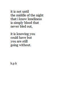 Sad but true poem
