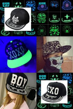 46aa948412d  Visit to Buy  HABANGXIONG Fashion Snapback Caps Fluorescence Baseball Cap  Woman Men Hip Hop
