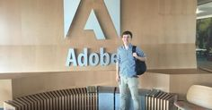Jacob Brewer got a Job as an Adobe AI Product Manager! he is happy about
