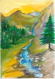Doamna Fagilor: Dun- Dună, vrăjitorul cu inimă bună și Povestea Du... Painting, Art, Art Background, Painting Art, Kunst, Paintings, Performing Arts, Painted Canvas, Drawings