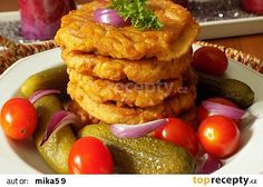 Uzení rarášci recept - TopRecepty.cz Waffles, French Toast, Menu, Eggs, Treats, Cheese, Breakfast, Ethnic Recipes, Menu Board Design