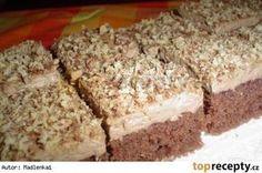 Pařížské řezy jednoduché Baking Recipes, Cake Recipes, Dessert Recipes, Czech Desserts, Czech Recipes, Sweets Cake, Healthy Diet Recipes, No Bake Cake, Sweet Recipes