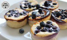 Blaubeeren Quark Muffins