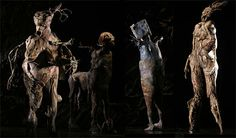 Julie Taymor, designed by Georg Tsypin -sets- and Constance Hoffman -costumes. Julie Taymor, Musical Theatre Broadway, Theatre Costumes, Stage Design, Frankenstein, Puppet, Theater, Opera, Legends