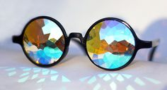 Holes Kaleidoscope Glasses! Want, need, crave!