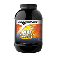 Boditronics Diet Express Whey 1.8Kg. Diet Express Whey contains high doses of CLA, L-Carmitin- L-Tartrate and Green Tea Extract. it support the maintenance of lean muscle mass and thus metabolic rate, a key requirement in the fight against unwanted body fat.