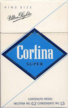 vintage cigarette pack