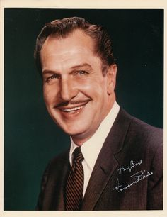 Vincent Price, the master of classic horror films