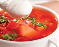 Вегетарианский протертый суп