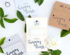 100 Happy Tears Tissue Packs for Wedding Ceremony, Wedding Tissues, Tears of Joy, Custom Decorations, Personalized Decorations Wedding Favor Bags, Party Favor Bags, Wedding Party Favors, Wedding Gifts, Wedding Decorations, Sunflower Decorations, Happy Tears, Tears Of Joy, Wedding Ceremony